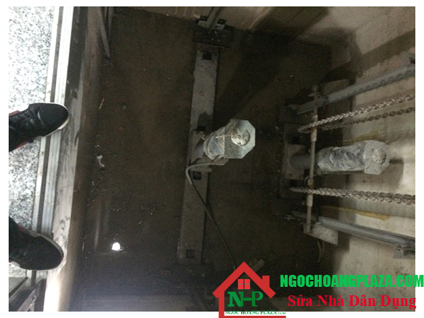 Chống thấm hố thang máy tại TP HCM