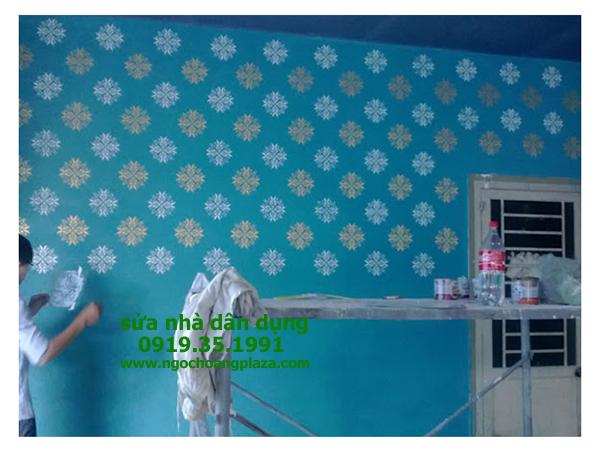Dịch vụ sơn nhà tại huyện củ chi