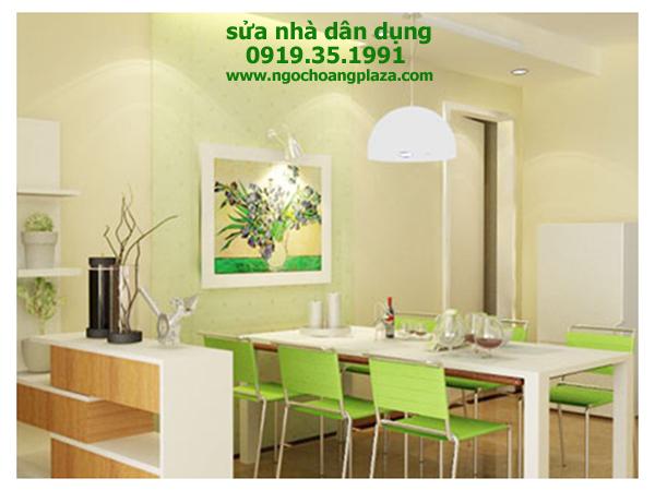 Dịch vụ sơn nhà tại huyện hóc môn