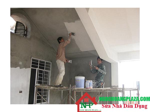 Sửa chữa chống thấm nhà tại bình dương
