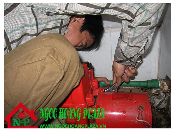 Sửa máy bơm nước tại quận 5