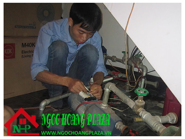 Sửa máy bơm nước tại quận tân bình