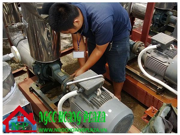 Thợ sửa máy bơm nước tại nhà quận 8